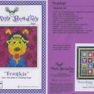 AMY BRADLEY DAZZLING DOGS FRANKIE Quilt block pattern only applique pattern