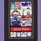 Amy Bradley Designs Applique Pattern Pirates Boys or Girls Quilt Pattern