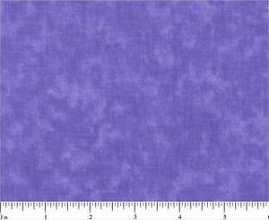 FIVE INCH SQUARES 4 DOZEN BLENDER 0403 Violet tulip MOTTLED SANTEE PRINT WORKS