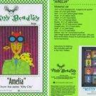 AMY BRADLEY DESIGNS Kitty City Amelia Quilt Pattern Airplane Cat Pilot Applique