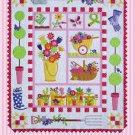 Amy Bradley Designs Applique Pattern Garden Full Size Quilt Pattern