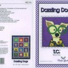 AMY BRADLEY DAZZLING DOGS T.C. Quilt Block  Pattern only applique