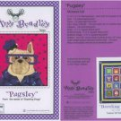 AMY BRADLEY DAZZLING DOGS PUGSLEY QUILT KIT FABRIC FUSIBLE EMBELLISHMENTS MORE