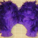 sizes 12 to 18 months - Colored Feathered Baby Wings