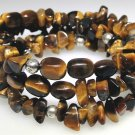 New Tiger Eye flexible coil bracelet