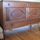 Antique Oak Linen Chest