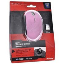 Microsoft 6000 BlueTrack Scroll Mouse w/Nano Transceiver pink