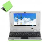 Brand New V702C 7 Inch Netbook VIA8850 Camera HDMI-green