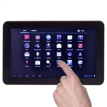 """M906G 1GHz 512MB 4GB 9"""" Capacitive Touchscreen Tablet Android 4.0 w/Camera"""
