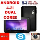 "A20 7"" Q88 Pro A20 Google Android 4.2 Dual Core"