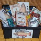 Tackle Box Gift Basket For His Tackle (treats)
