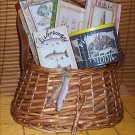 Fun Fishing Creel Gift Basket