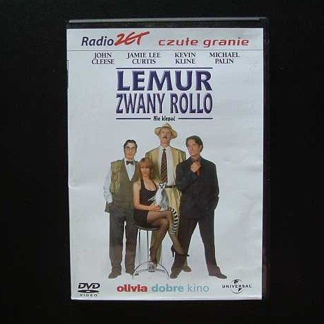 FIERCE CREATURES JOHN CLEESE, JAMMIE LEE CURTIS, KEVIN KLINE AND MICHAEL PALIN POLISH LANGUAGE DVD
