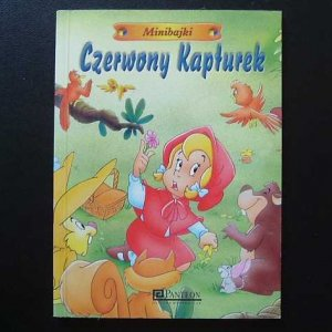 LITTLE RED RIDING HOOD POLISH LANGUAGE CHILDRENS CLASSIC STORY BOOK