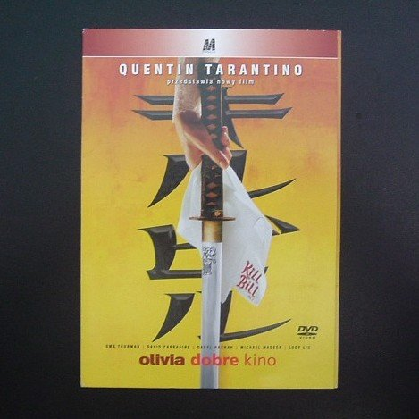 KILL BILL  UMA THURMAN, DARYL HANNAH, JOHN CARRADINE and LUCY LIU  POLISH LANGUAGE DVD