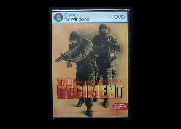 THE REGIMENT SAS DUAL LANGUAGE RUSSIAN ENGLISH COMPUTER GAME