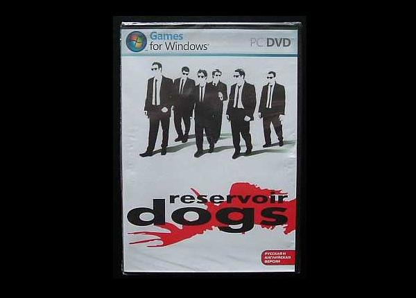 RESERVOIR DOGS DUAL LANGUAGE RUSSIAN AND ENGLISH COMPUTER GAME