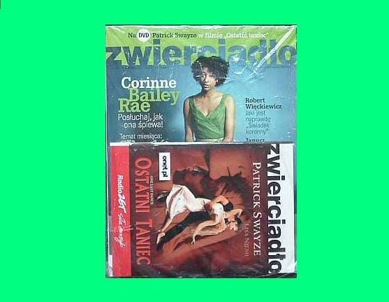 ONE LAST DANCE PATRICK SWAYZE and LISA NEIMI POLISH LANGUAGE DVD