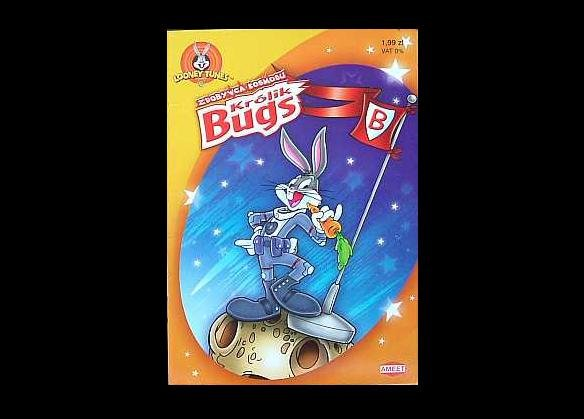 BUGS BUNNY POLISH LANGUAGE COLOR PUZZLE LEARNING BOOK