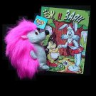 RUSSIAN LANGUAGE CHILDRENS BOOK AND TOY THE HEDGEHOG AND THE RABBIT