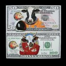 YEAR OF THE OX UNITED STATES BANKNOTES RUSSIAN LANGUAGE CALENDAR CARDS 2009