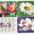 SET OF THREE RUSSIAN LANGUAGUE MILITARY CALENDAR CARDS 2010