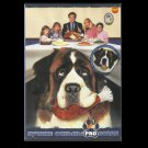 BEETHOVEN THE SAINT BERNARD FIVE ORGINAL MOVIES ON ONE RUSSIAN LANGUAGE DVD