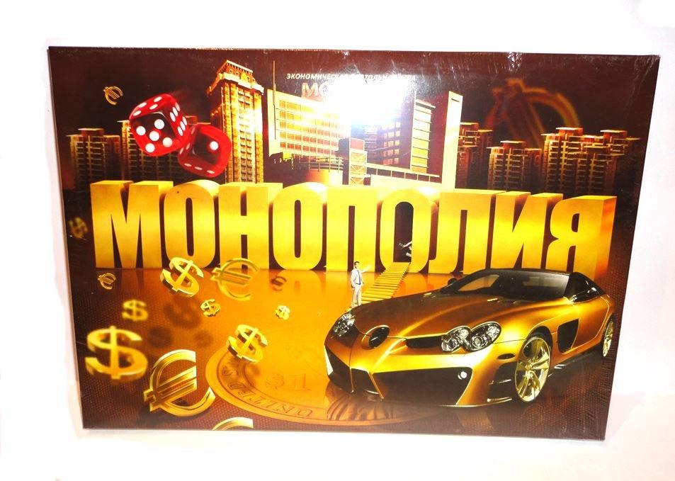 RUSSIAN LANGUAGE JUNIOR MONOPOLY BOARD GAME