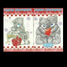 LOVE ME TEDDY BEAR RUSSIAN LANGUAGE CHILDRENS PACK OF PLAYING CARDS