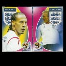 ENGLAND FOOTBALL TEAM FIFA WORLD CUP 2010 RUSSIAN PLAYING CARDS