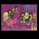 BRATZ RUSSIAN LANGUAGE CHILDRENS PACK OF PLAYING CARDS