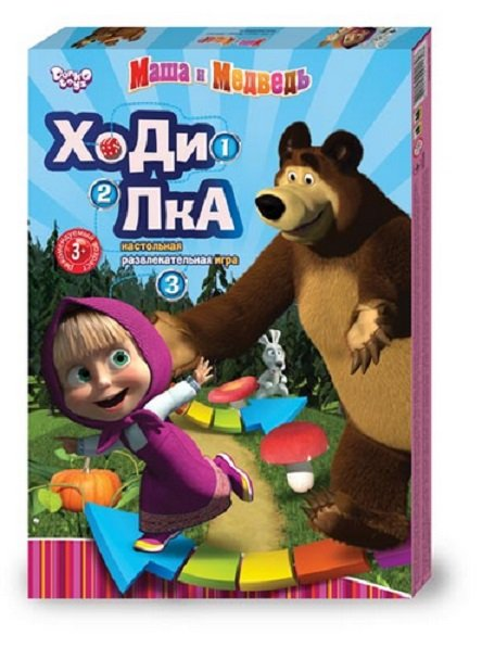 MASHA AND MEDVED THE BEAR �а�а и �едвед�  DICE BASED BOARD GAME