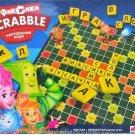 FIXIKI CHILDREN'S RUSSIAN AND UKRAINIAN LANGUAGE SCRABBLE WORD BOARD GAME
