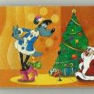 NUPOGODI CHRISTMAS SOVIET ERA CARTOON CHILDRENS SOFT FOAM JIGSAW PUZZLE