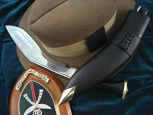 Service no. 1 (The Gurkha Knife)