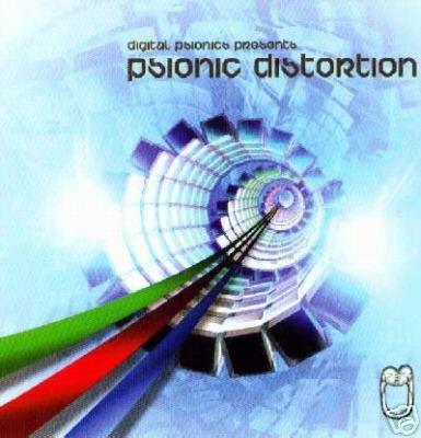 PSIONIC DISTORTION SUPERB AUSTRALIAN PSY-TRANCE CD
