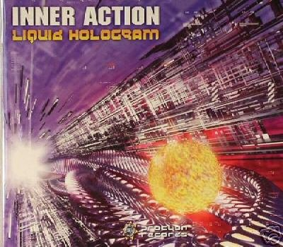 INNER ACTION LIQUID HOLOGRAM LIOR HUNGARIAN TRANCE CD