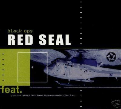 RED SEAL BLACK OPS SUPERB RARE OOP PORTUGAL TRANCE CD
