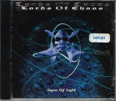 LORDS OF CHAOS SIGNS OF LIGHT V RARE EBM GOA TRANCE CD