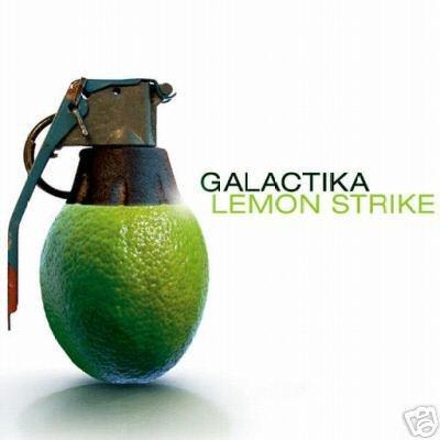 GALACTIKA NOK LEMON STRIKE STUNNING PSY-TRANCE CD