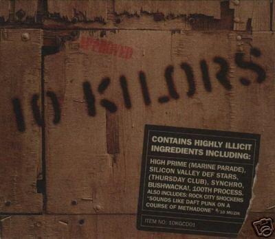 10 KILORS EXCESS HEAD BUSHWACKA UNDERGRAM MC SULTAN CD