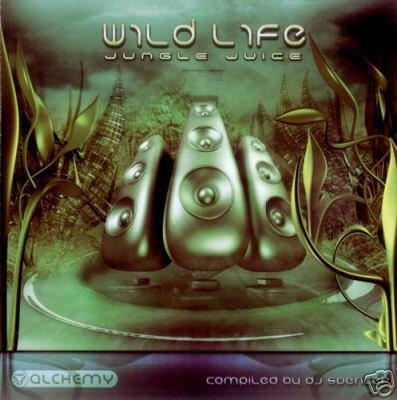 WILD LIFE JUNGLE JUICE X-NOISE POP STREAM AMD KRUNCH CD