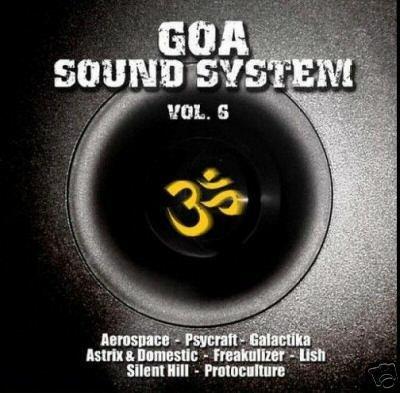 GOA SOUND SYSTEM SIX 6 NOK LISH PSYCRAFT YOTOPIA CD