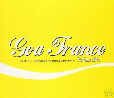 GOA TRANCE 5 FIVE IBOJIMA GENETIC SPIN ATMA ITAL CD