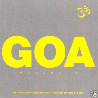 GOA TRANCE 15 FIFTEEN X-NOIZE DMMT BRAD SUCKS Z-MAN CD