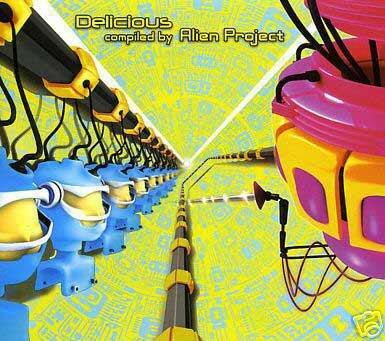 DELICIOUS ALIEN PROJECT OFORIA QUADRA JAPAN TRANCE CD