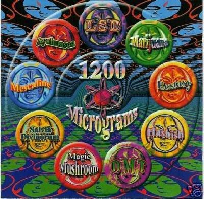 1200 MICS 1200 MICROGRAMS RARE OOP TIP.WORLD TRANCE CD