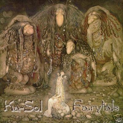 KA-SOL FAIRYTALE RARE BELGIUM GOA PSY-TRANCE CD IMPORT