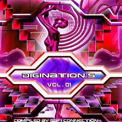 DIGINATIONS VOLUME 1 ONE SPLIFF MUSIC ISREAL TRANCE CD
