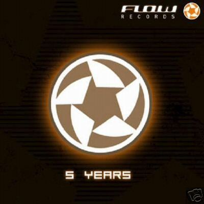 5 FIVE YEARS OF FLOW FILUR ECHOTEK YUTOPIA RARE OOP CD